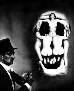 Череп Дали. Фото Филиппа Халсмана, 1951 г. © Philippe Halsman/ Estate of Philippe Halsman