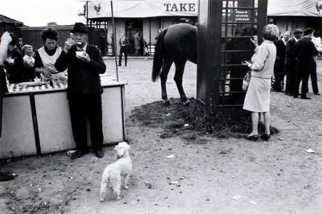 Derby Day, Epsom. Фото Тони Рэя-Джонса, 1967 г. © Tony Ray-Jones/ Stephen Bulger Gallery
