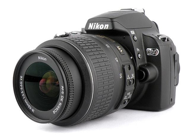 Nikon D60: обзор функций, фотографии, цены