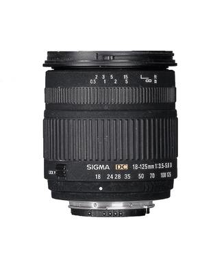 "Sigma 18–125/3.8–5.6 DC OS HSM: тест журнала ""Foto&Video"""
