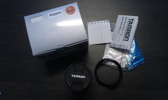 Tamron SP 24-70mm F/2.8 Di VC USD Canon EF