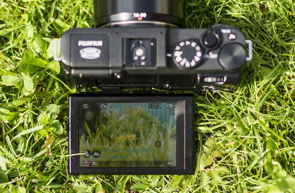 Fujifilm X-M1: предварительный тест
