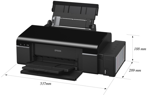 Тест принтера Epson L800