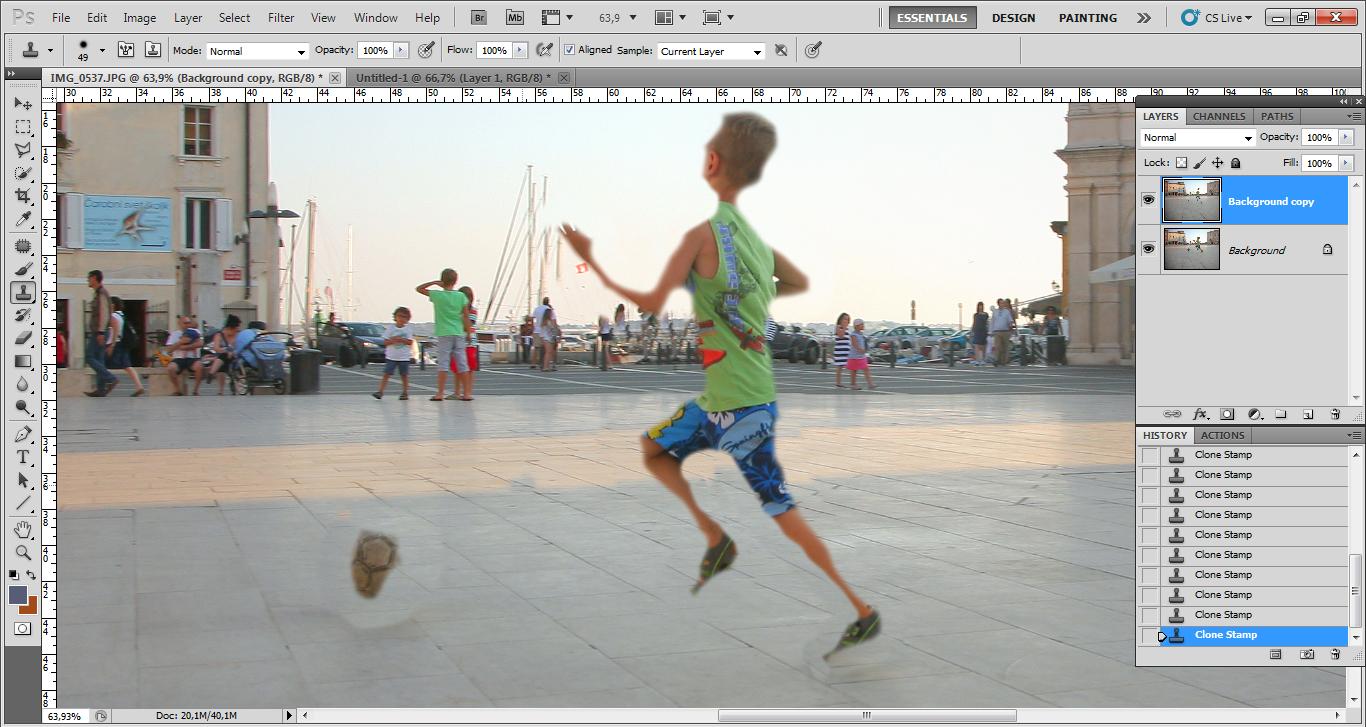 Как сделать чтобы фото передвигалось 720