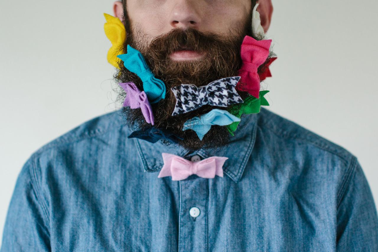 Как сделать картинку с бородой