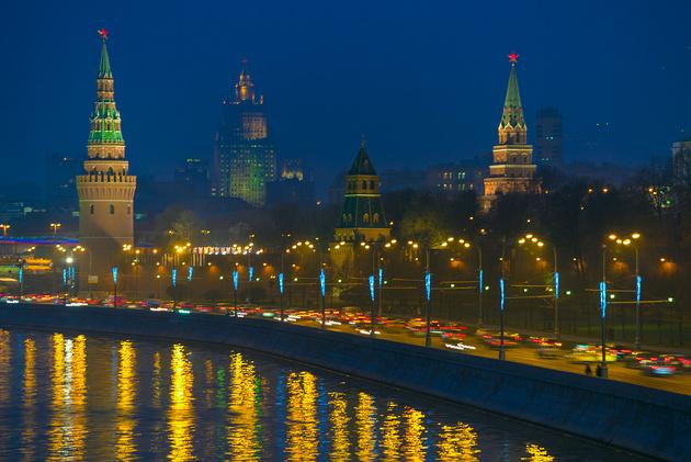 Снимаем ночной пейзаж в городе