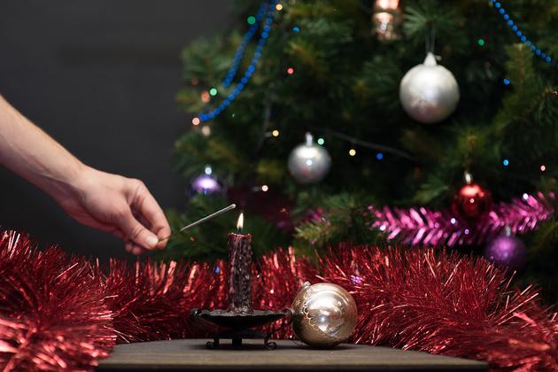 Новогодний фризлайт: как снимать