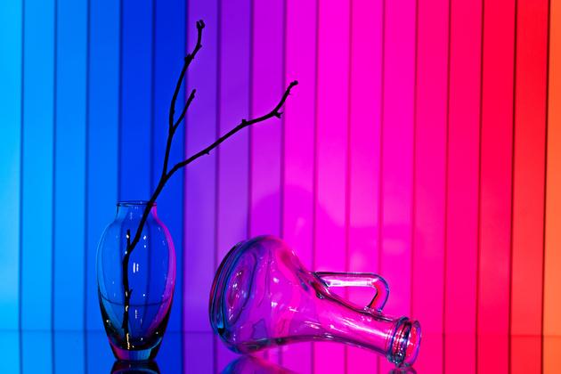 Учимся, как фотографировать стекло на фоне монитора