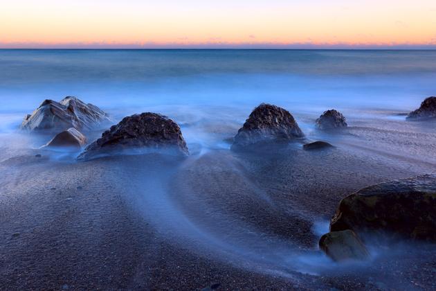 Загадочное море. Превращаем воду в туман