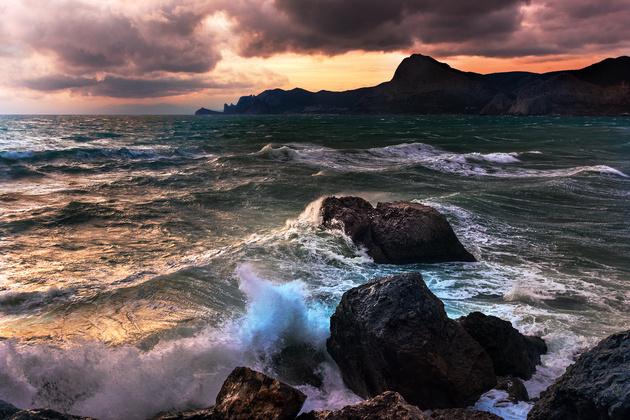 Морской пейзаж: как фотографировать море без штатива