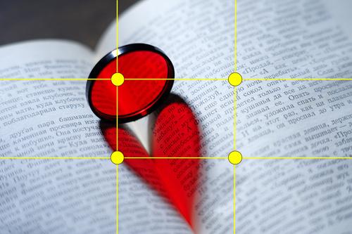 Идеи для фотосессий: сердце на книге