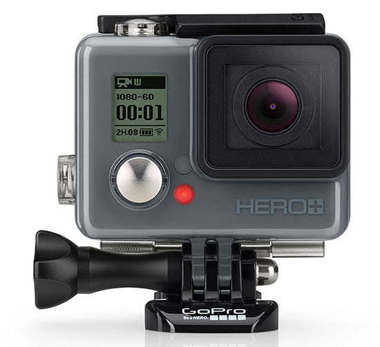 GoPro HERO+ LCD – пополнение в линейке экшн-камер