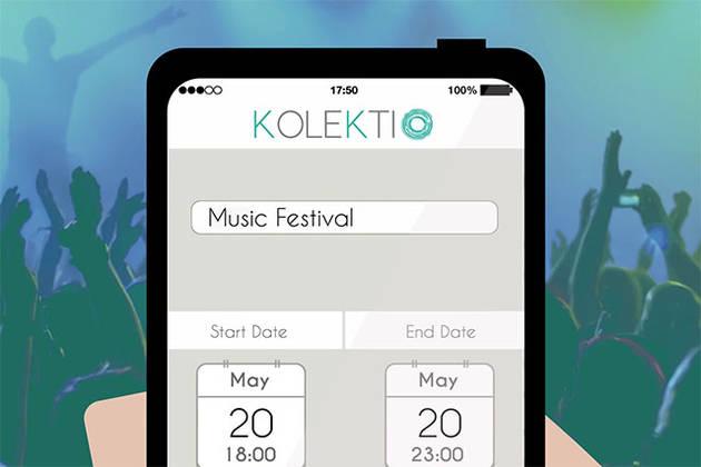 Приложение Kolektio позволяет создавать общие альбомы для группы друзей