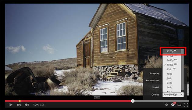 Будущее рядом – YouTube теперь официально поддерживает видео 8K