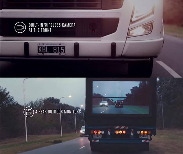 «Безопасные фуры» Samsung – с камерой впереди и дисплеем сзади