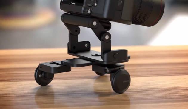 Складная тележка-долли Edelkrone PocketSkater 2 для видеографов