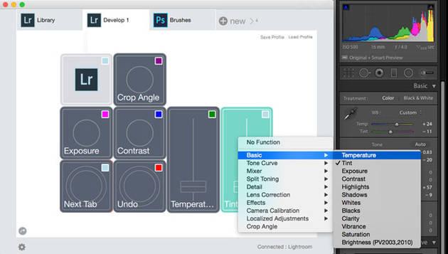 Palette – модульный аппаратный пульт управления редактированием снимков