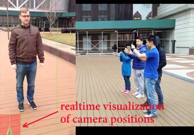 Приложение CamSwarm позволяет снимать несколькими смартфонами эффект Bullet-time
