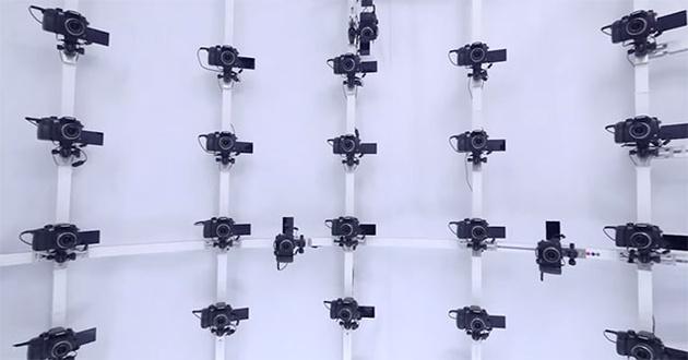 В 3D-стенде Panasonic используется 120 камер GH4 – на общую сумму $180000