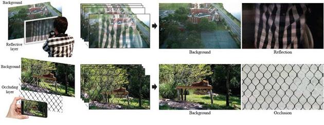 Потрясающий алгоритм удаляет со снимков препятствия и отражения