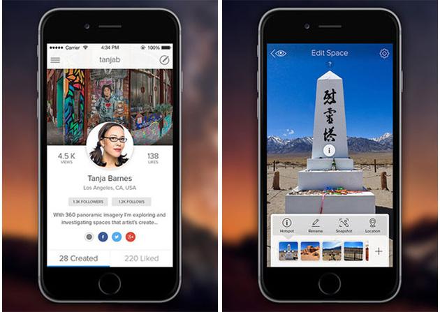 Roundme позволяет путешествовать по миру с помощью 360-градусных панорам
