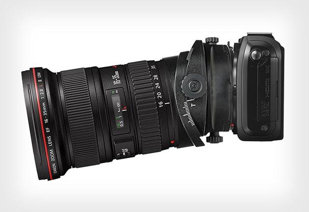Canon разрабатывает универсальный тилт-шифт адаптер для объективов EF