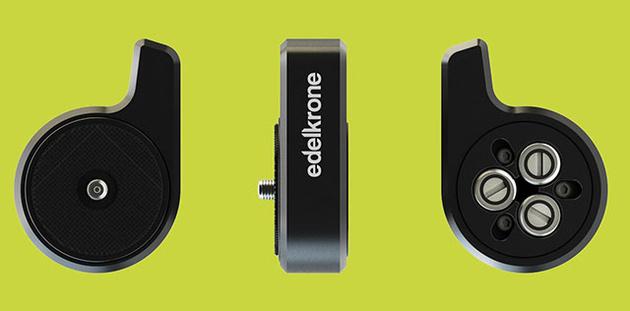 Edelkrone QuickReleaseONE – первая в мире универсальная быстросъемная площадка