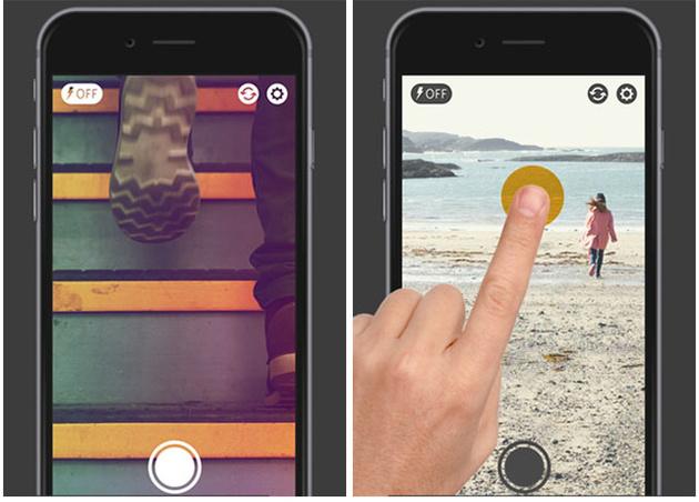 Приложение infltr позволяет обработать фотографии с пятью миллионами цветовых оттенков