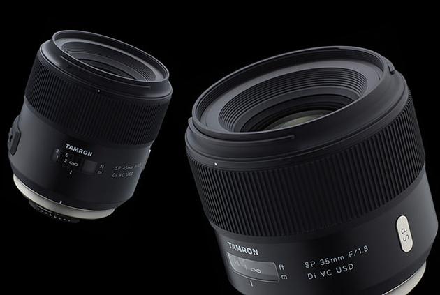 Tamron SP 35mm и 45mm f/1.8 – светосильные стабилизированные фикс-объективы