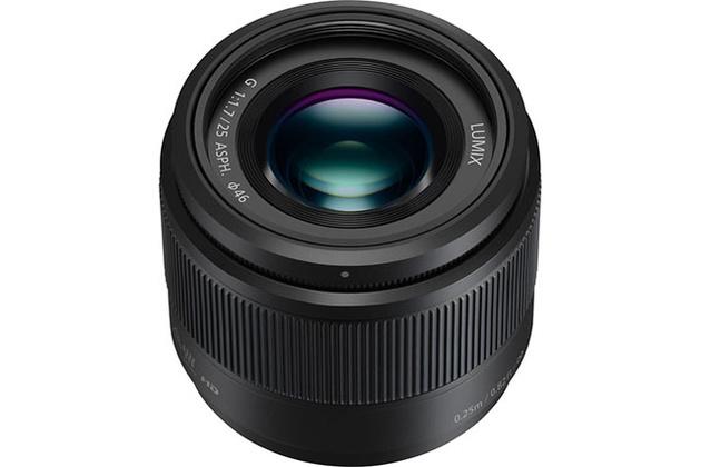 Lumix G 25mm f/1.7 и новая отделка трех других объективов Panasonic