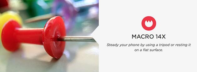 Макрообъективы Olloclip Macro Pro для смартфона iPhone 6 дают увеличение до 21х