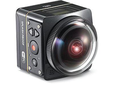 Kodak PixPro SP360 4K – панорамная 360-градусная экшн-камера
