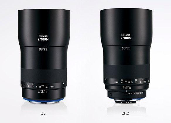 Линейка объективов Zeiss Milvus для зеркальных камер Canon и Nikon