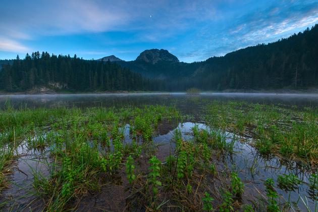 Три способа фокусировки при съёмке пейзажа