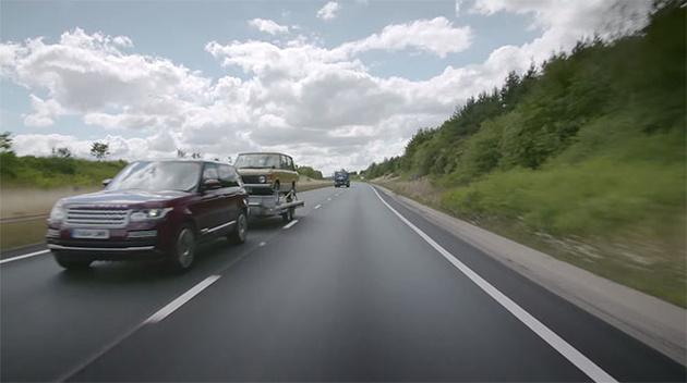 Land Rover разрабатывает систему, убирающую прицеп из зеркала заднего вида