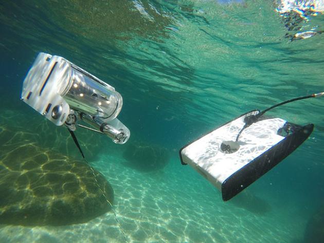 Trident – подводный дрон с HD камерой