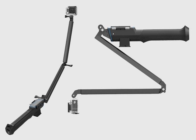 PowerGrip H2O – подводная палка для GoPro со встроенным аккумулятором