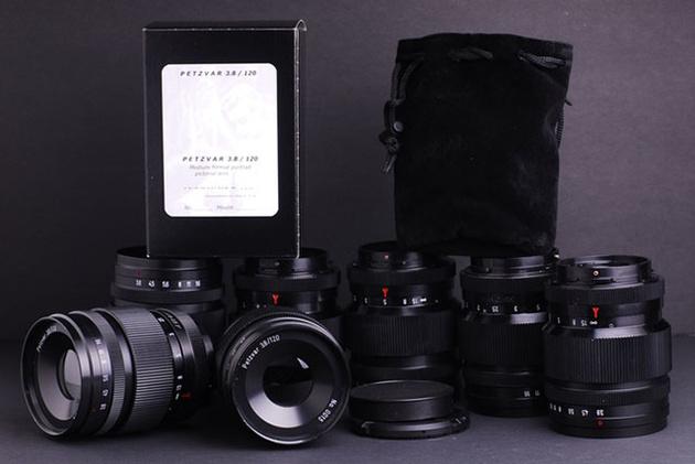 Petzvar 120mm f/4 – объектив для Hasselblad 500, сделанный в одиночку