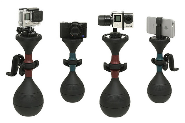 solidLUUV – универсальный стабилизатор для маленьких камер любого типа