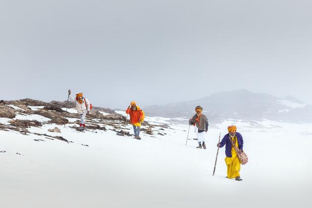 Паломничество Садху. Озеро Госайкунда
