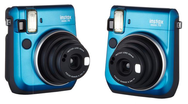 Fujifilm Instax Mini 70 – миниатюрная камера моментальной печати