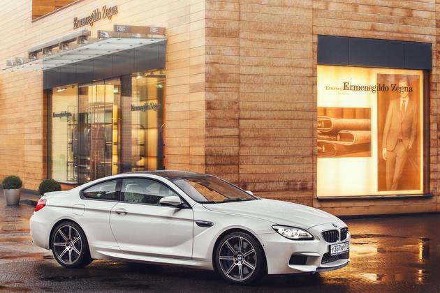 Тест Canon EOS-1D X и BMW M6: битва Титанов
