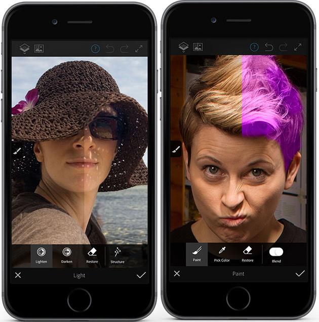Adobe выпускает Photoshop Fix – приложение для мобильного редактирования фотографий