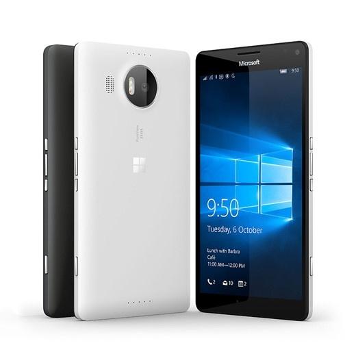 Смартфоны Microsoft Lumia 950 и 950 XL с камерами PureView