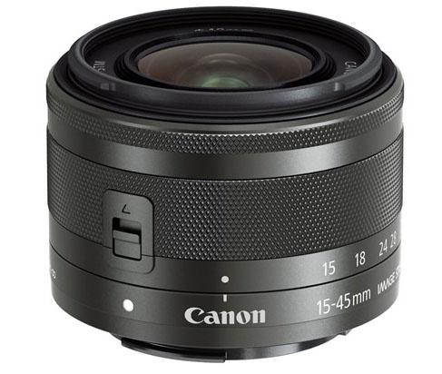 Беззеркальная камера Canon EOS M10 и складной объектив EF-M 15-45mm