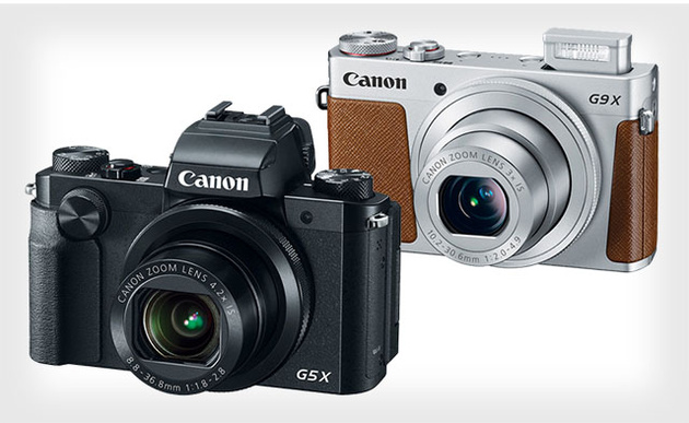 """Canon PowerShot G5 X и G9 X – топовые компакты с матрицей формата 1"""""""