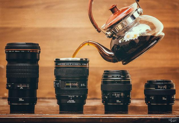 10 лучших фотографий с участием фотоаппарата