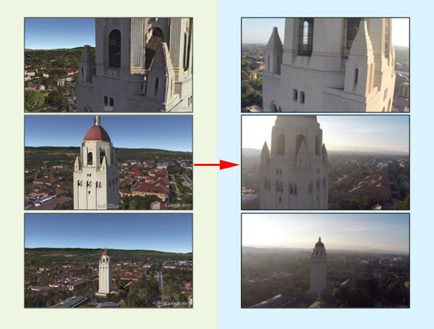 Софт для планирования снимков с мультикоптера в виртуальном пространстве