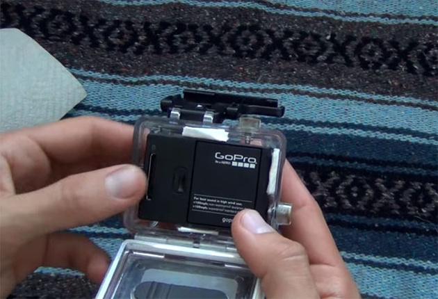 Самодельные бумажные вкладыши против запотевания для GoPro