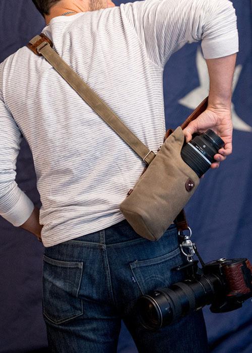 Sightseer Sling Strap – высококачественный кожаный ремень для камеры